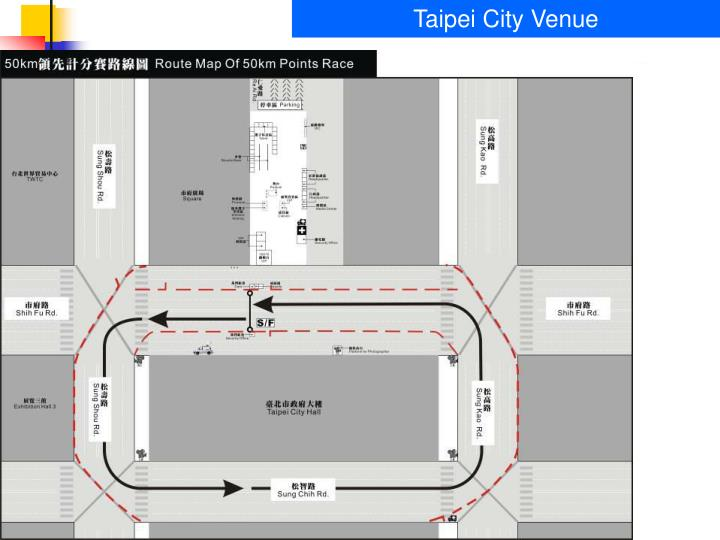 Taipei City Venue