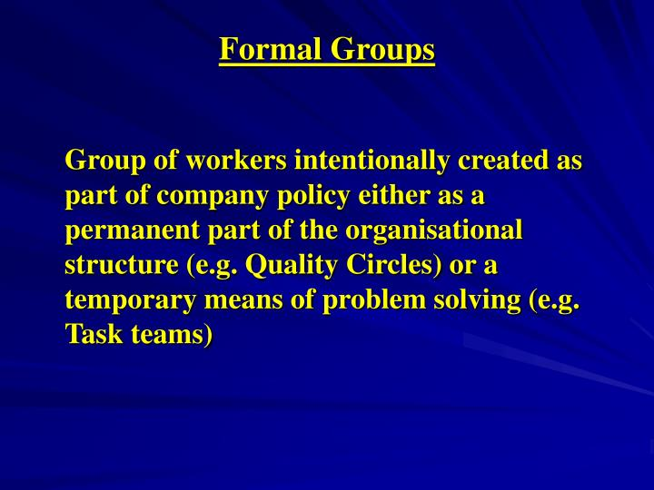Formal groups