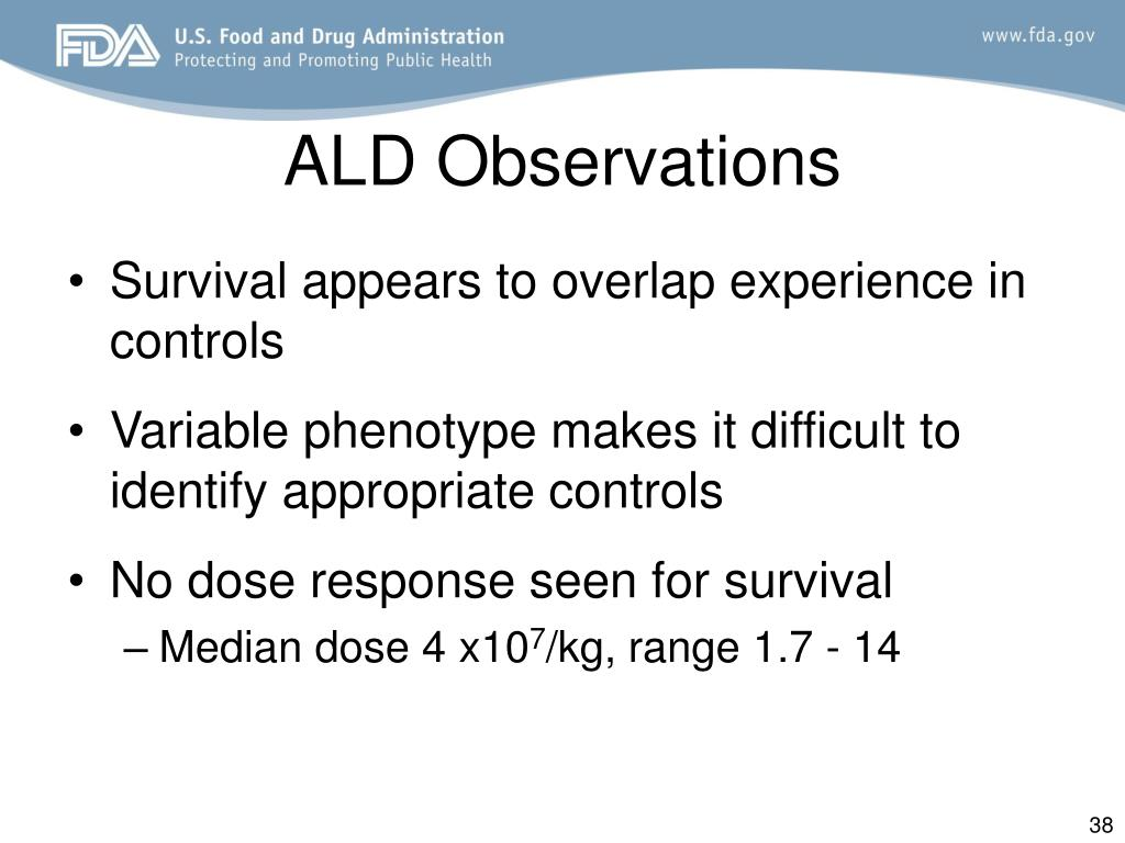 ALD Observations