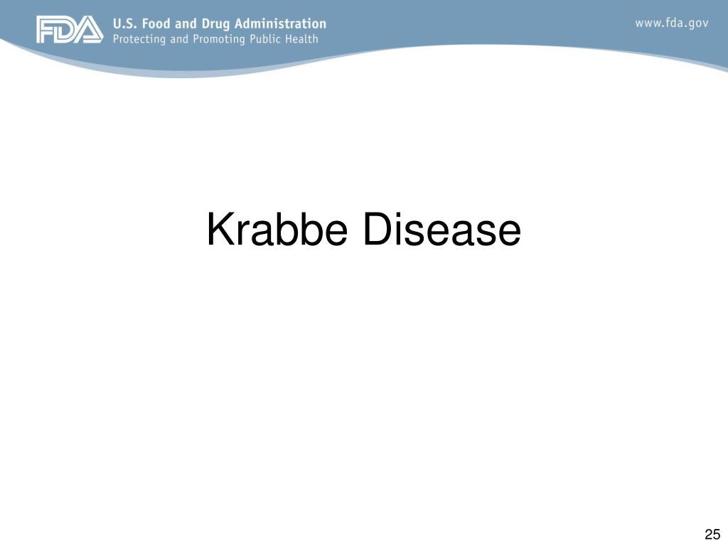 Krabbe Disease