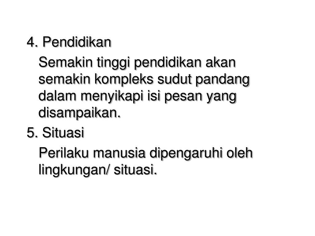 4. Pendidikan
