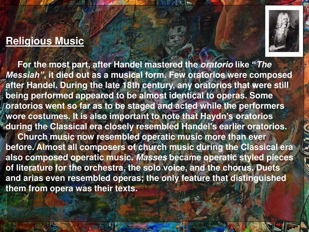 Religious Music