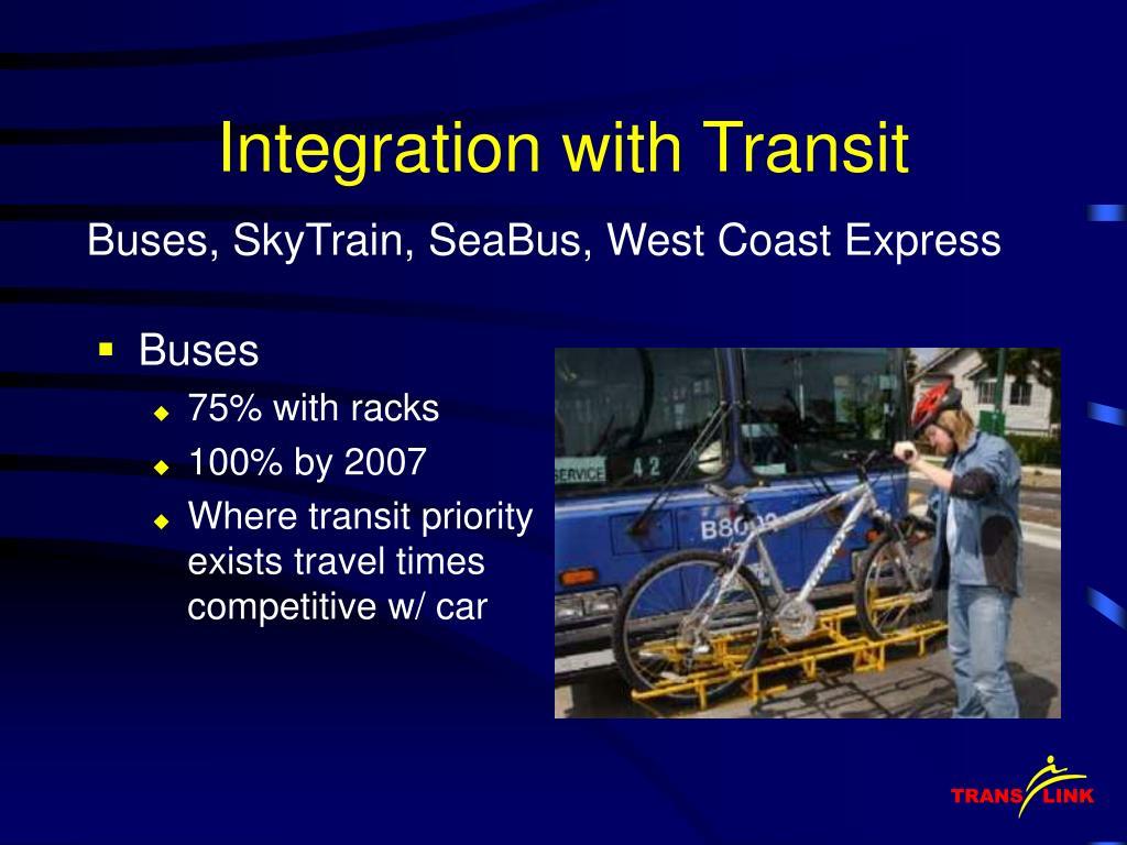 Integration with Transit
