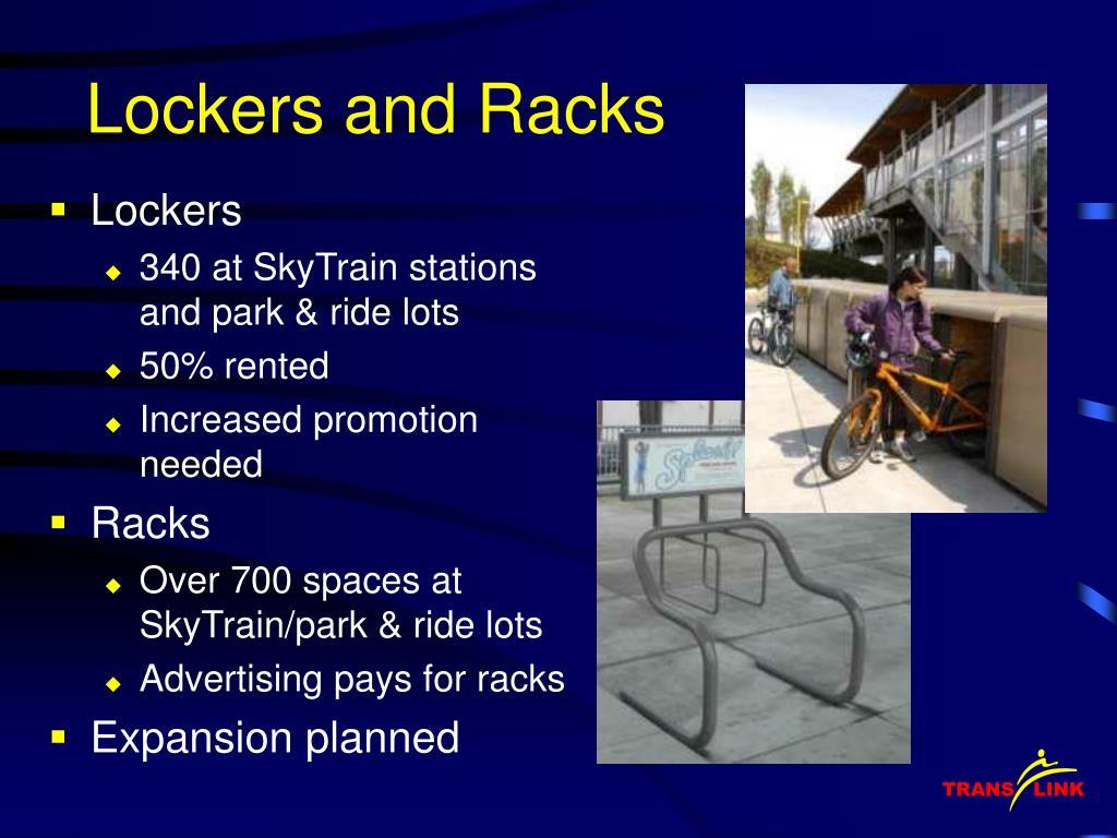 Lockers and Racks