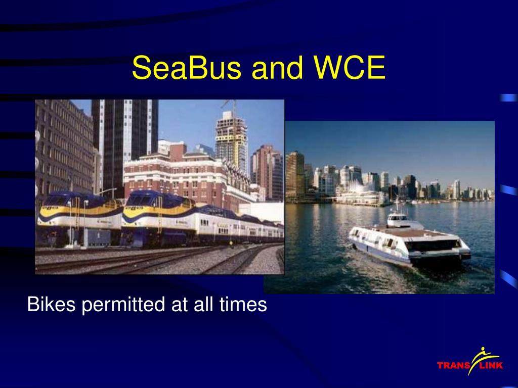 SeaBus and WCE