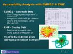 accessibility analysis with emme 2 enif