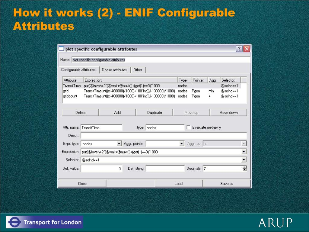 How it works (2) - ENIF Configurable Attributes