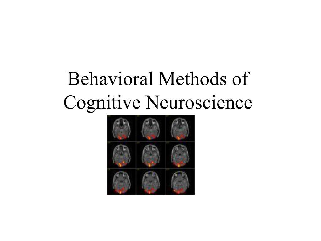 Behavioral Methods of