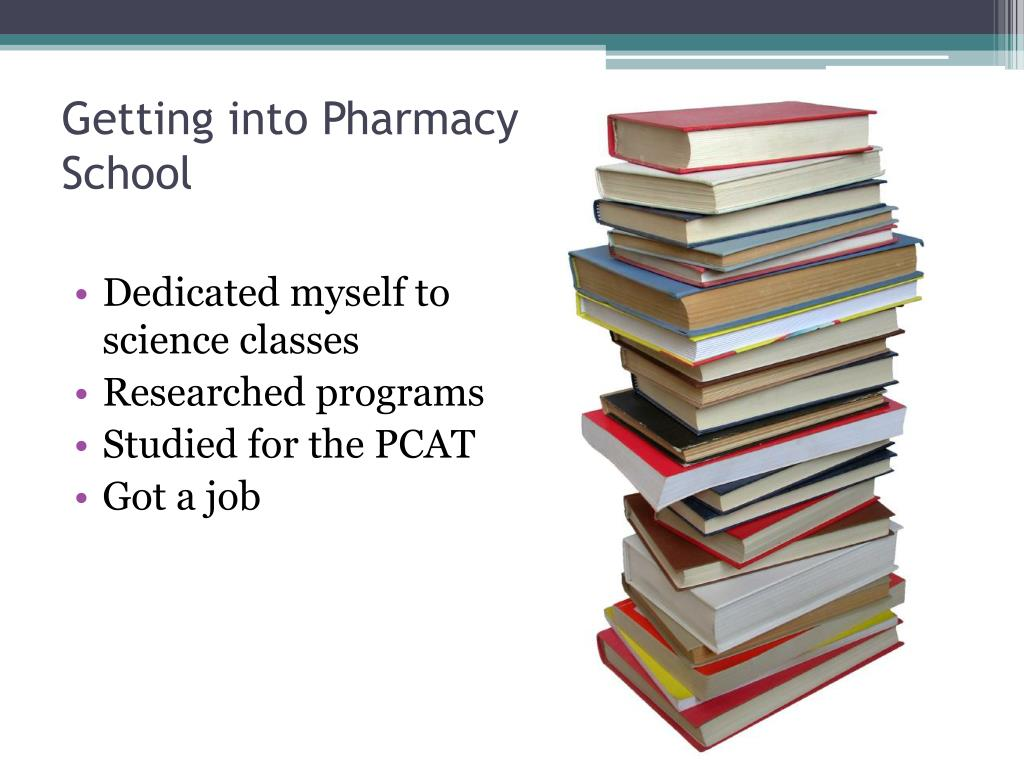 Getting into Pharmacy School