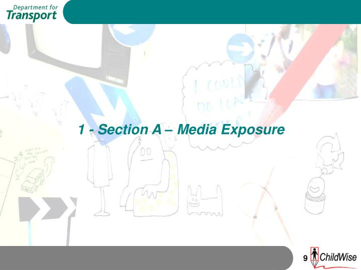 1 - Section A – Media Exposure