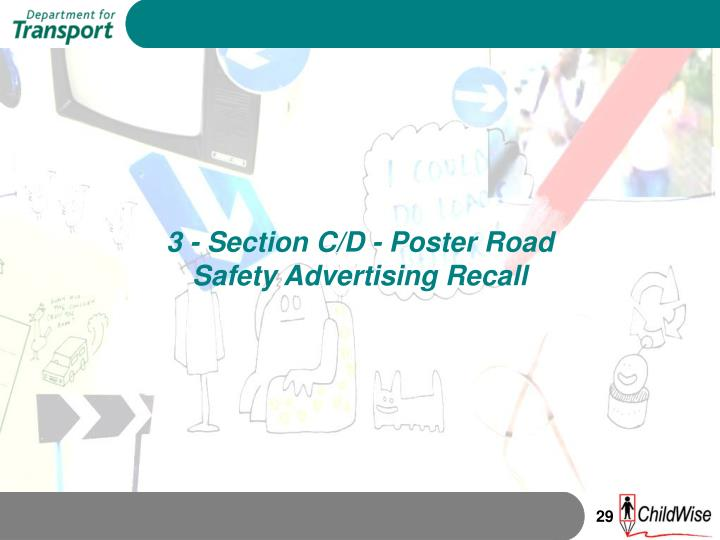3 - Section C/D - Poster Road