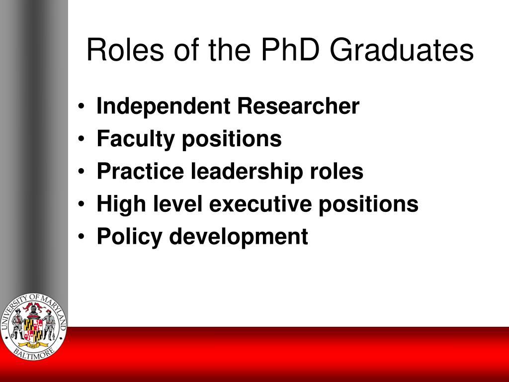 University of maryland doctoral dissertation