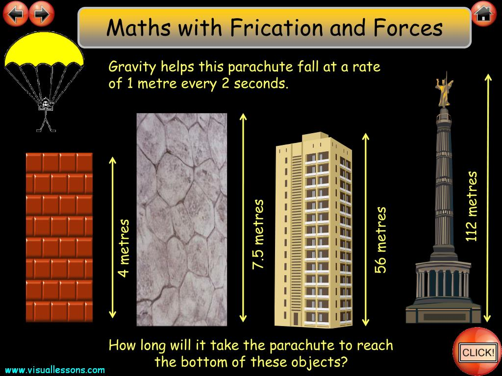 Maths with Frication and Forces
