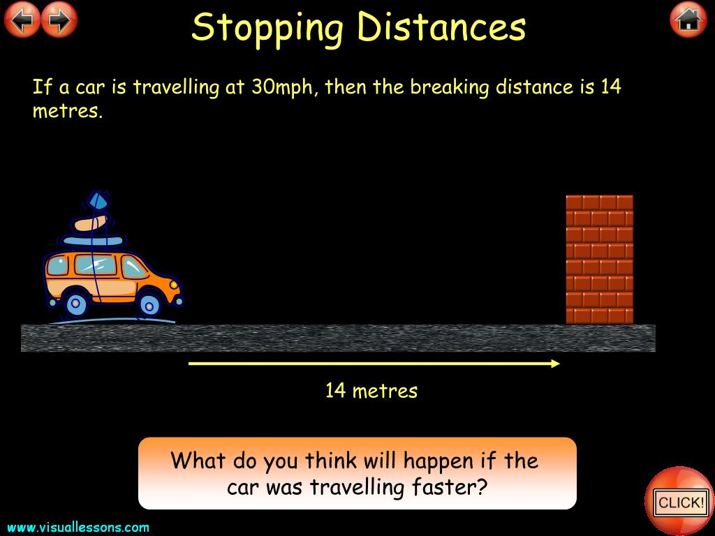 Stopping Distances