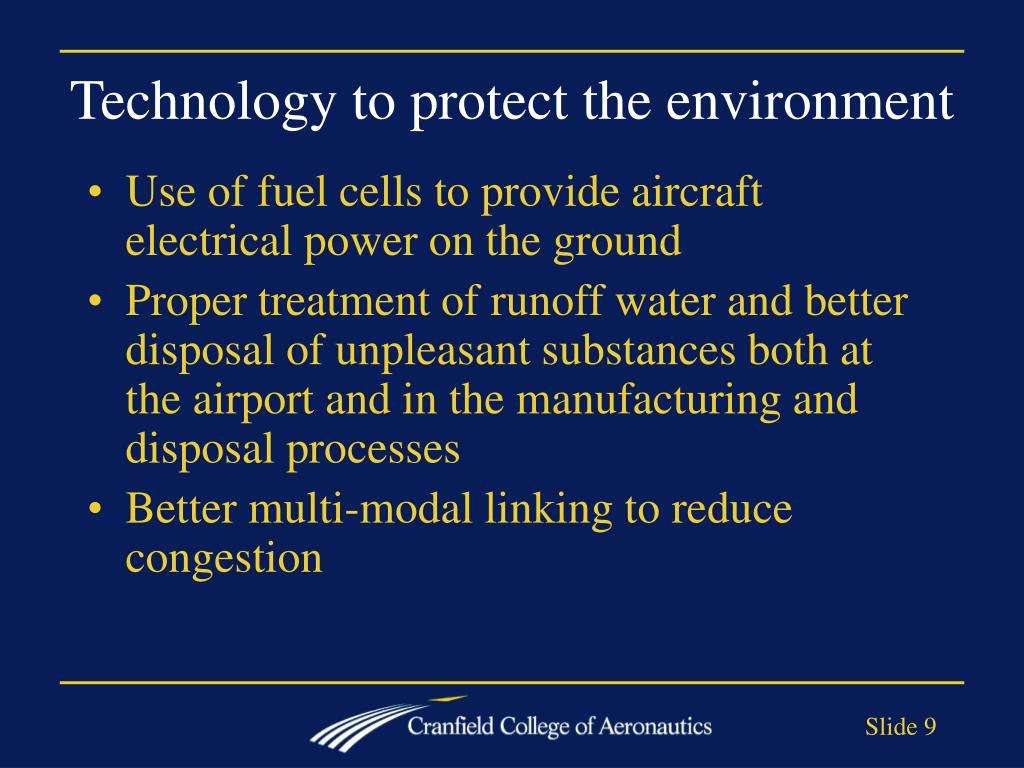 Technology to protect the environment
