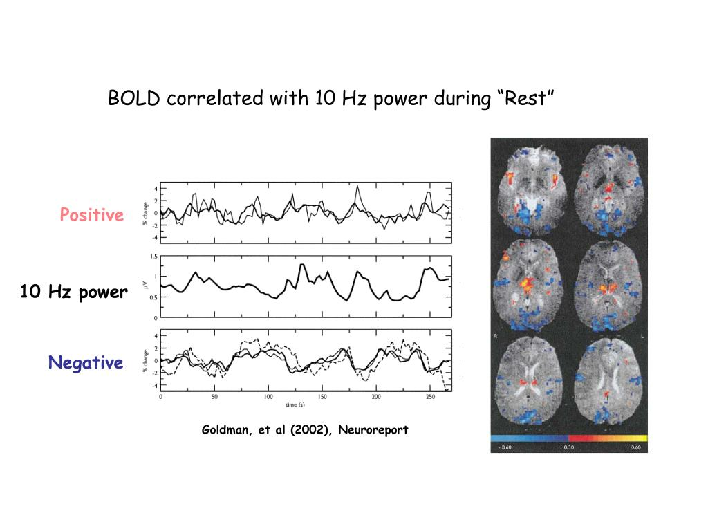 "BOLD correlated with 10 Hz power during ""Rest"""