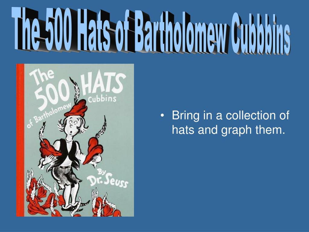 The 500 Hats of Bartholomew Cubbbins