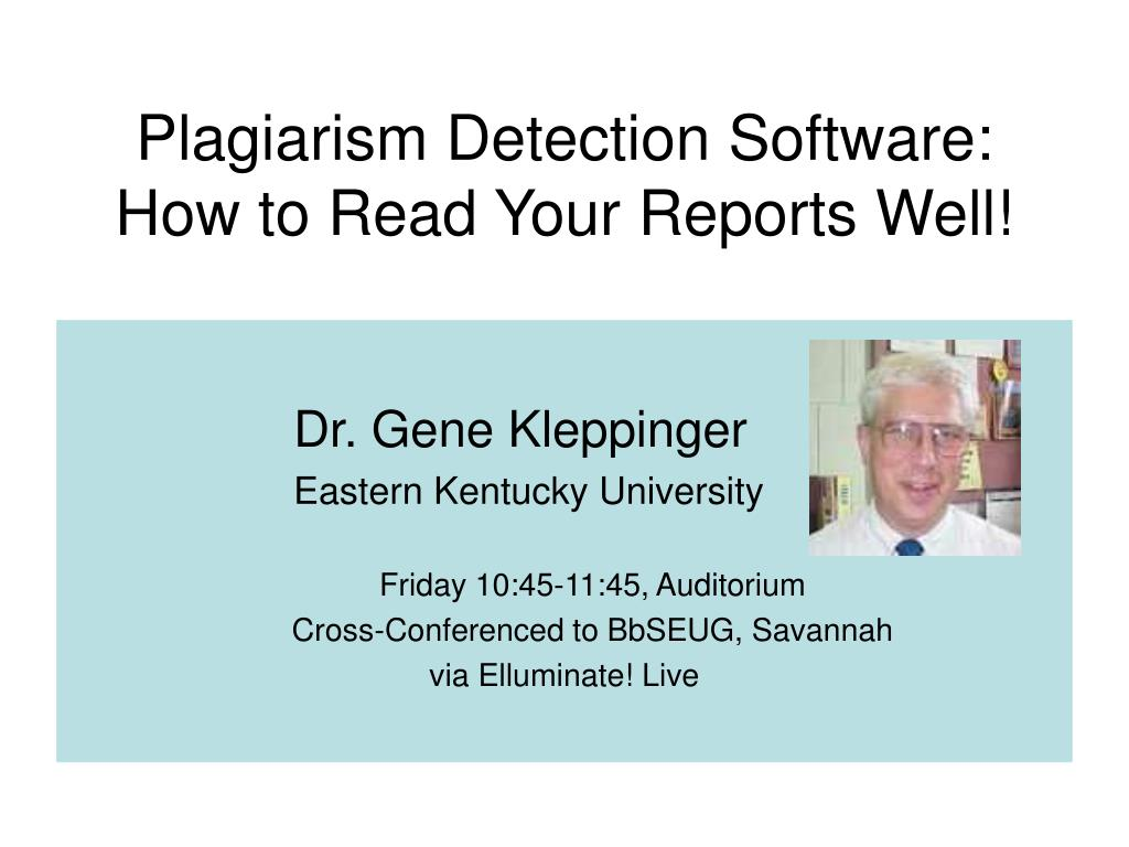 Plagiarism Detection Software: How to Read Your Reports Well!
