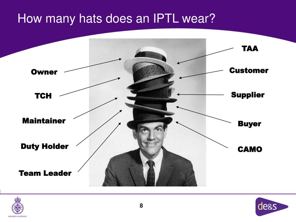 How many hats does an IPTL wear?