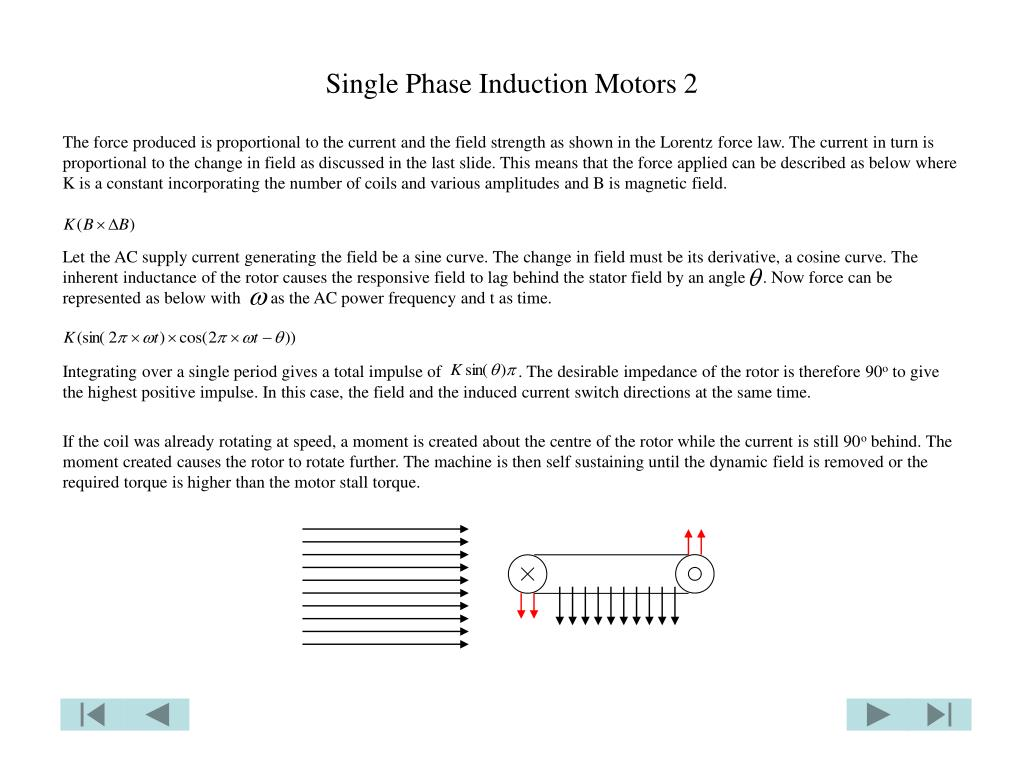Single Phase Induction Motors 2