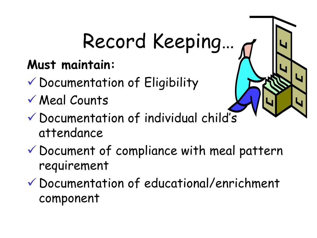 Record Keeping…