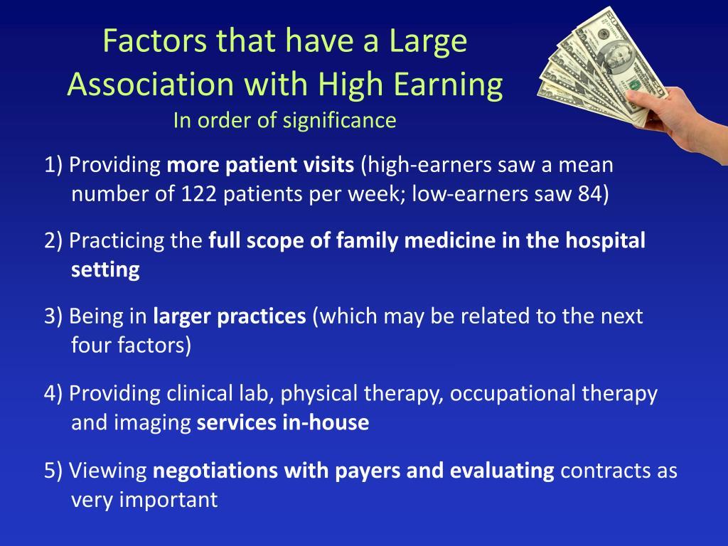 Factors that have a Large