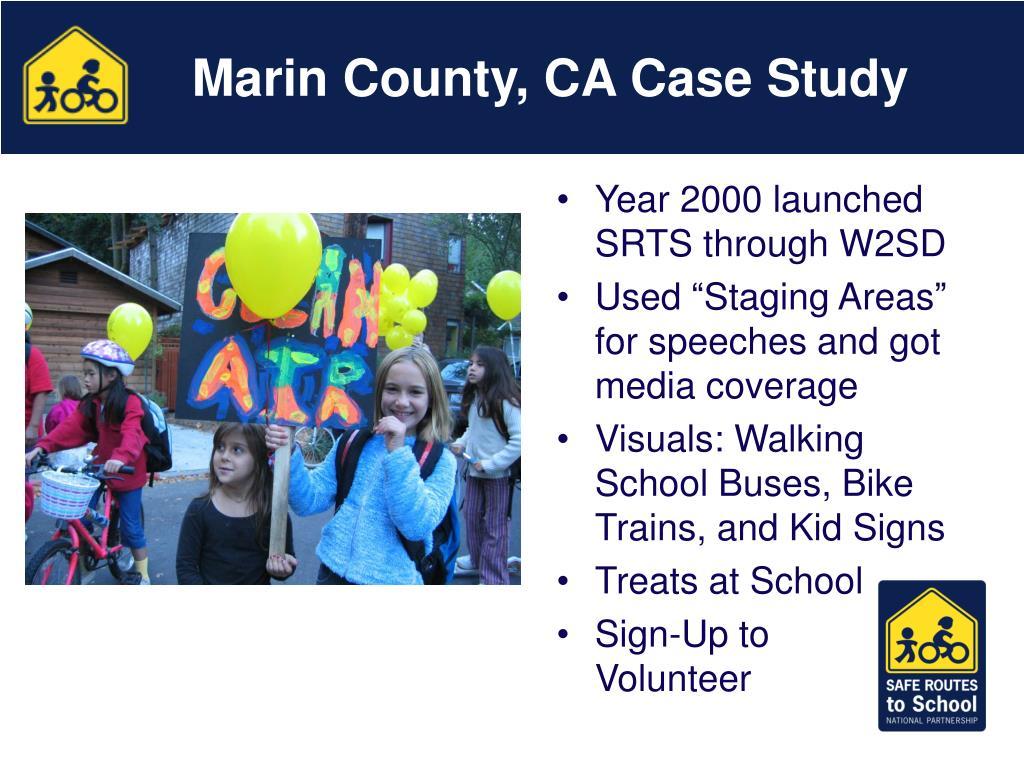 Marin County, CA Case Study