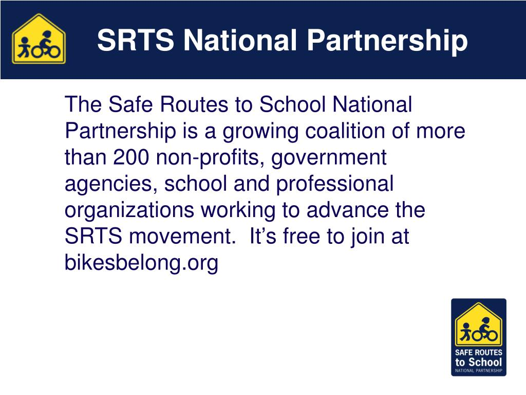 SRTS National Partnership