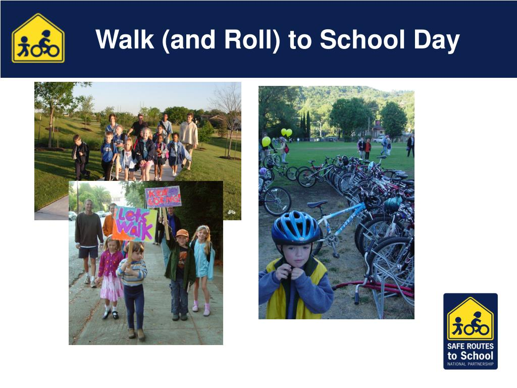 Walk (and Roll) to School Day