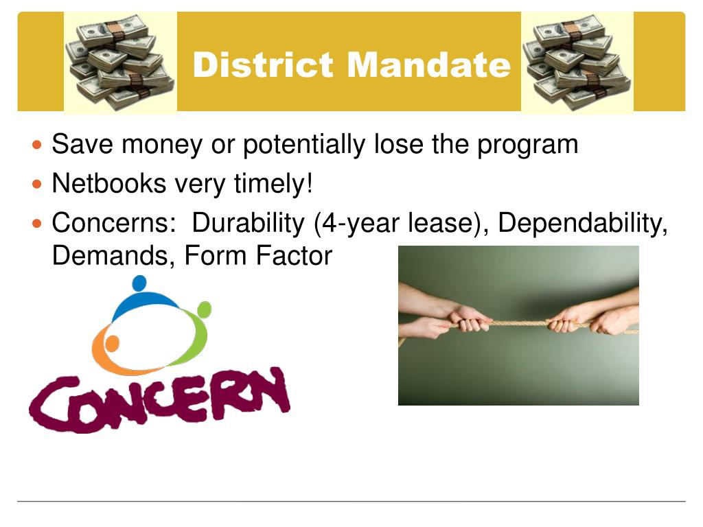 District Mandate