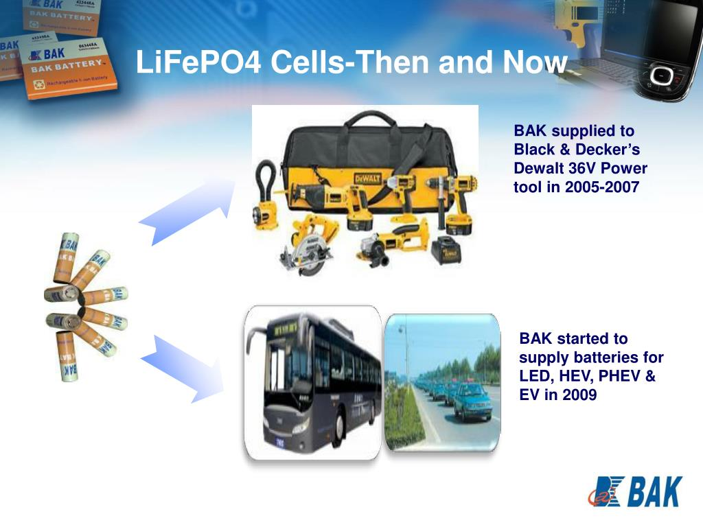 LiFePO4 Cells-Then and Now