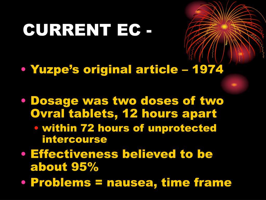 CURRENT EC -