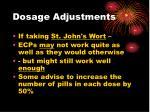 dosage adjustments30