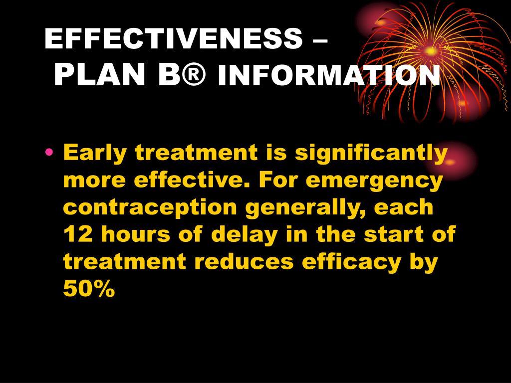 EFFECTIVENESS –