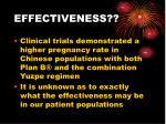 effectiveness27