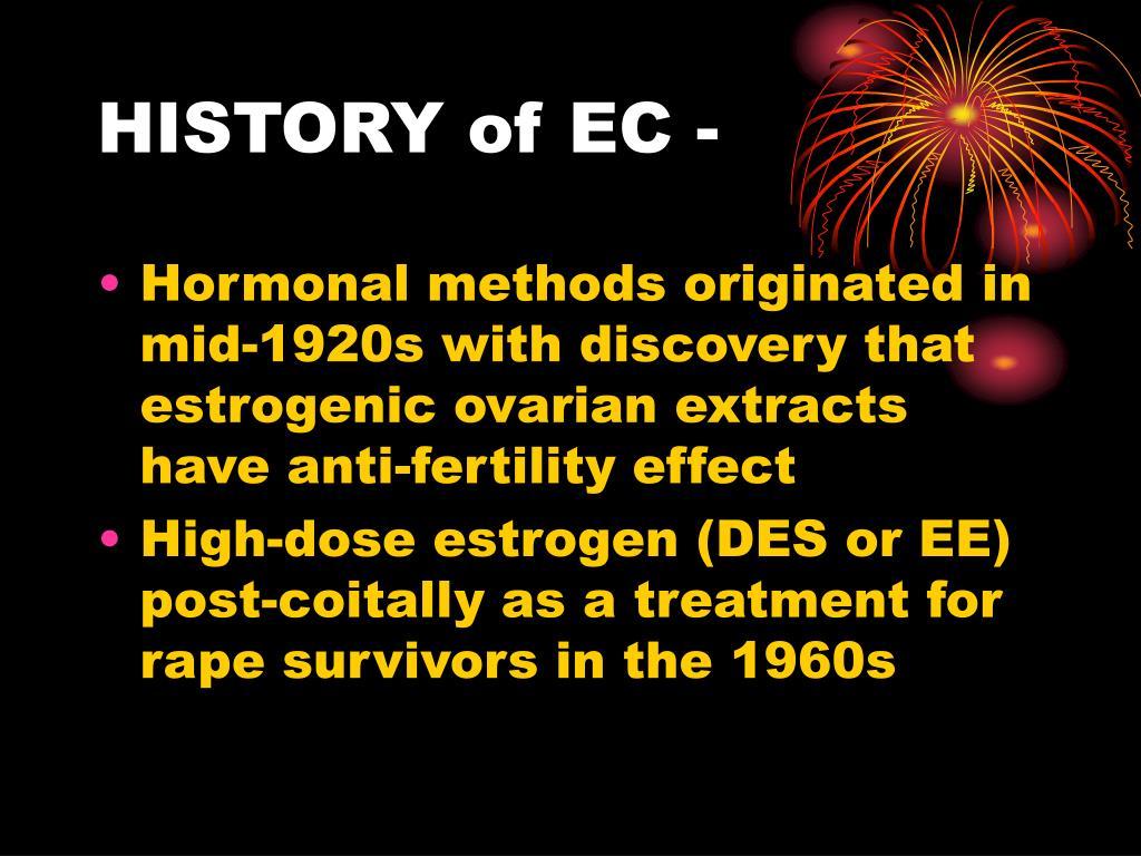 HISTORY of EC -