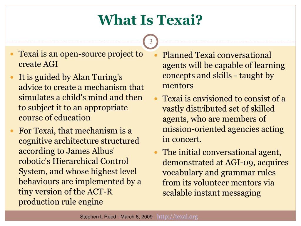 What Is Texai?