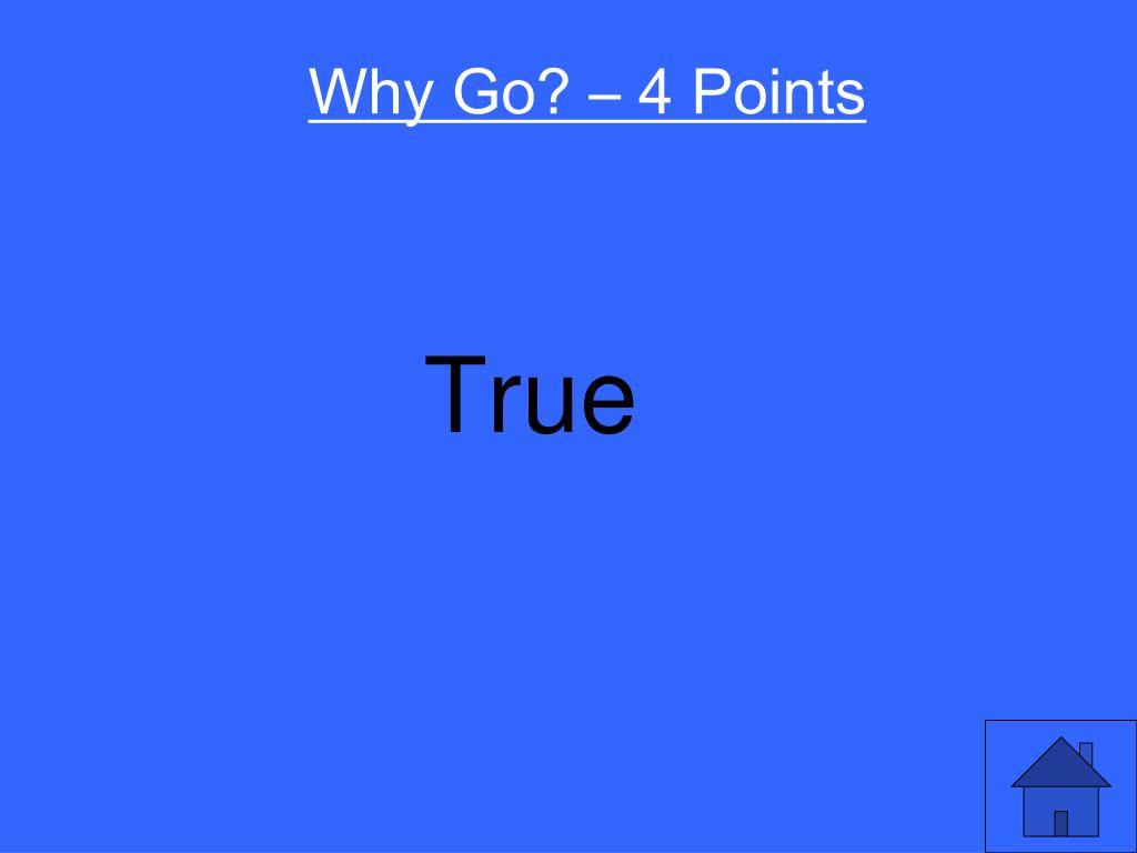Why Go? – 4 Points