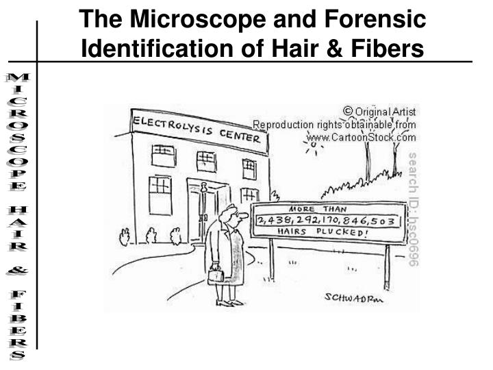 The Microscope and Forensic Identification of Hair & Fibers
