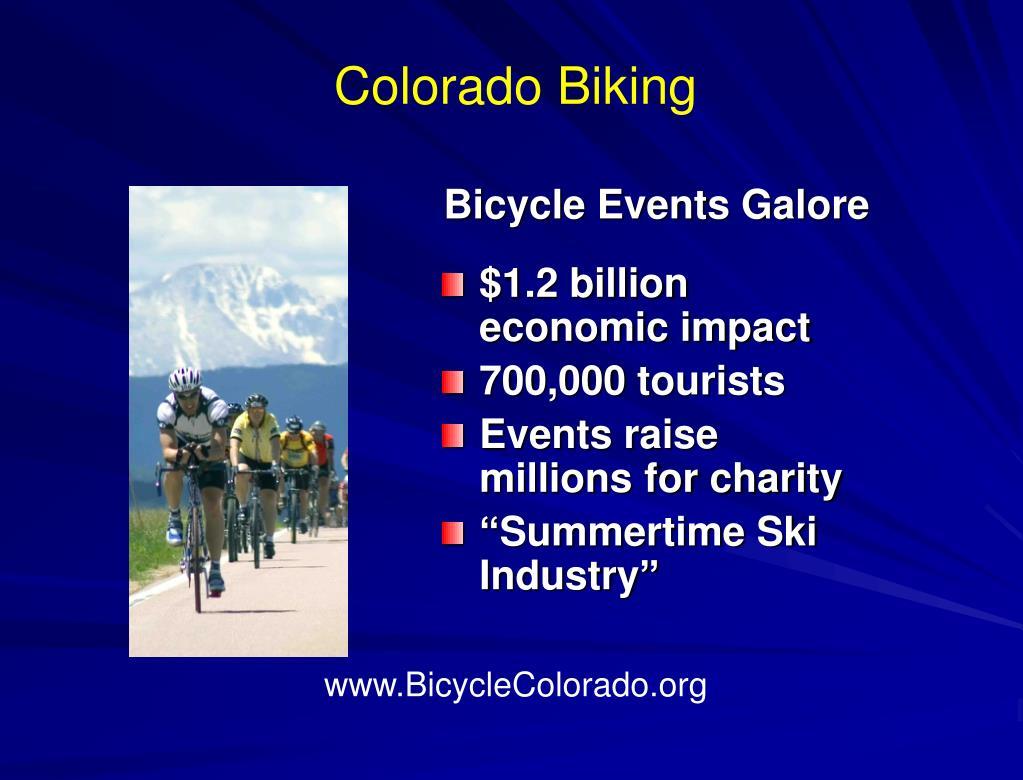 Colorado Biking