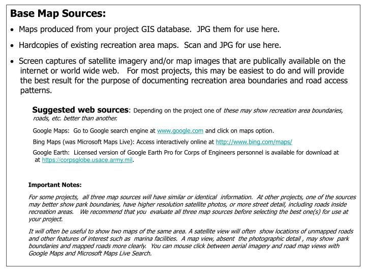Base Map Sources: