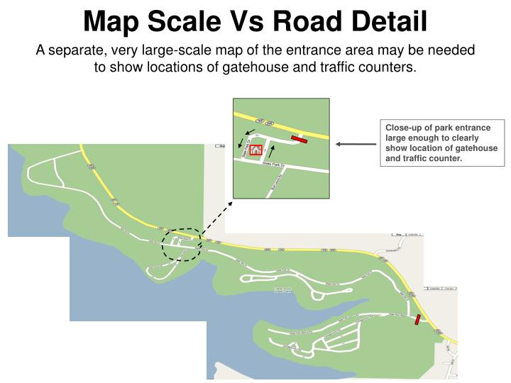 Map Scale Vs Road Detail