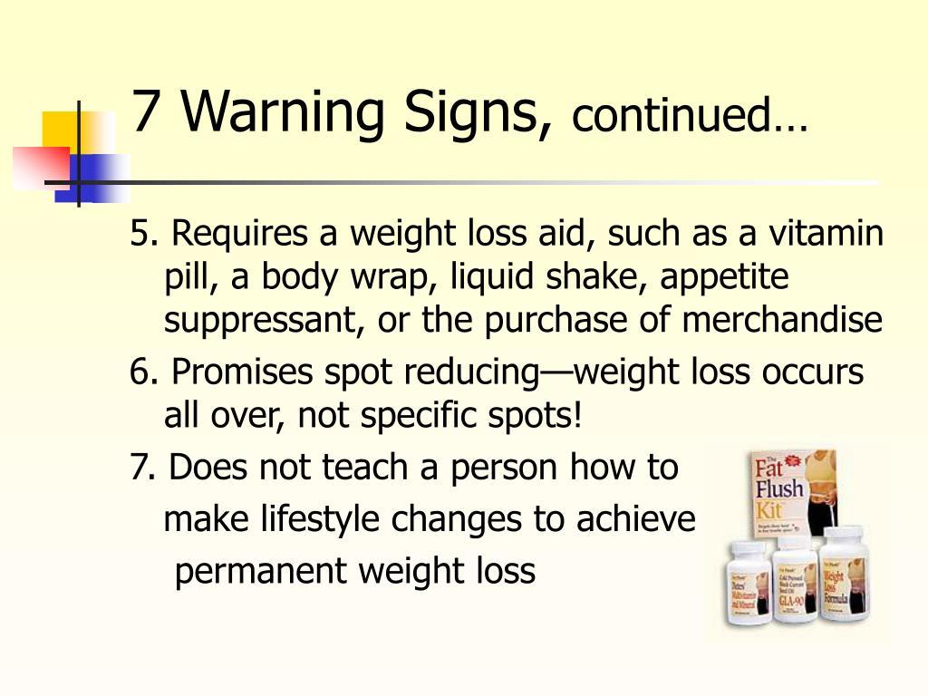 7 Warning Signs,