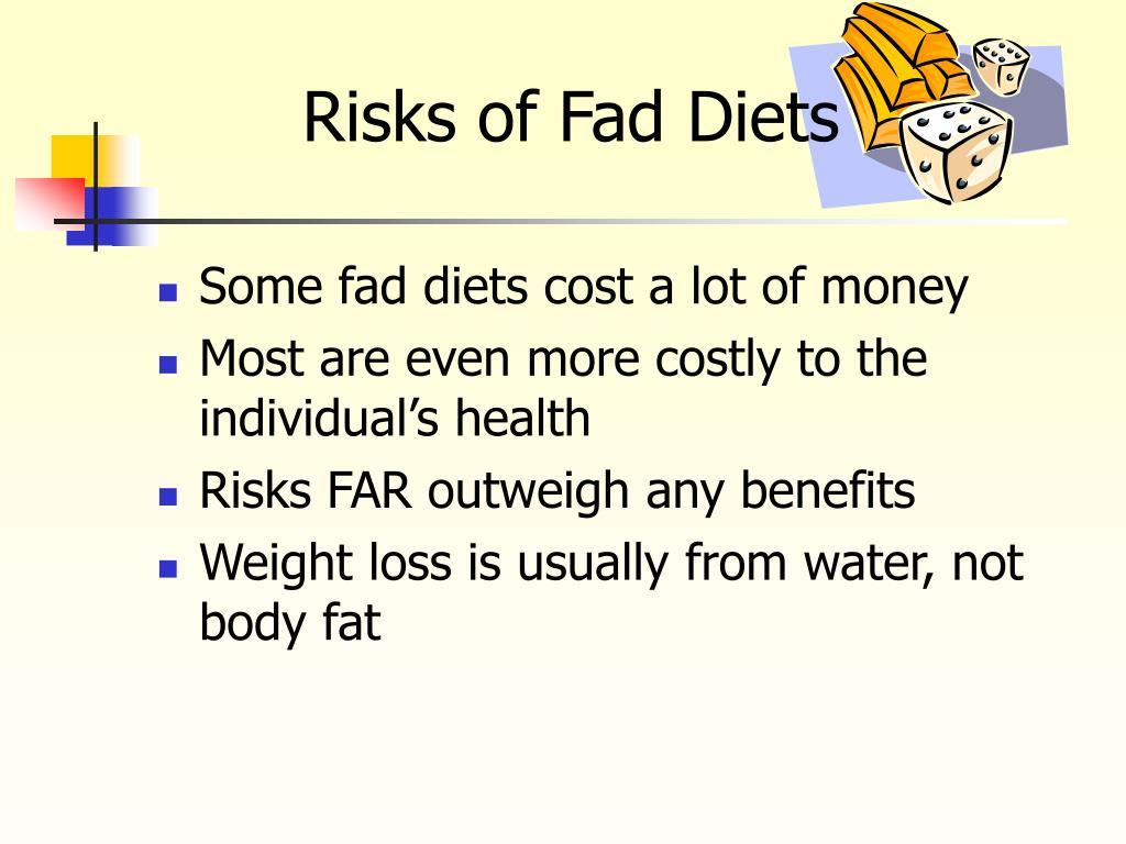 Risks of Fad Diets