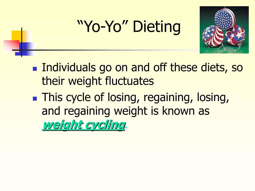 """""""Yo-Yo"""" Dieting"""