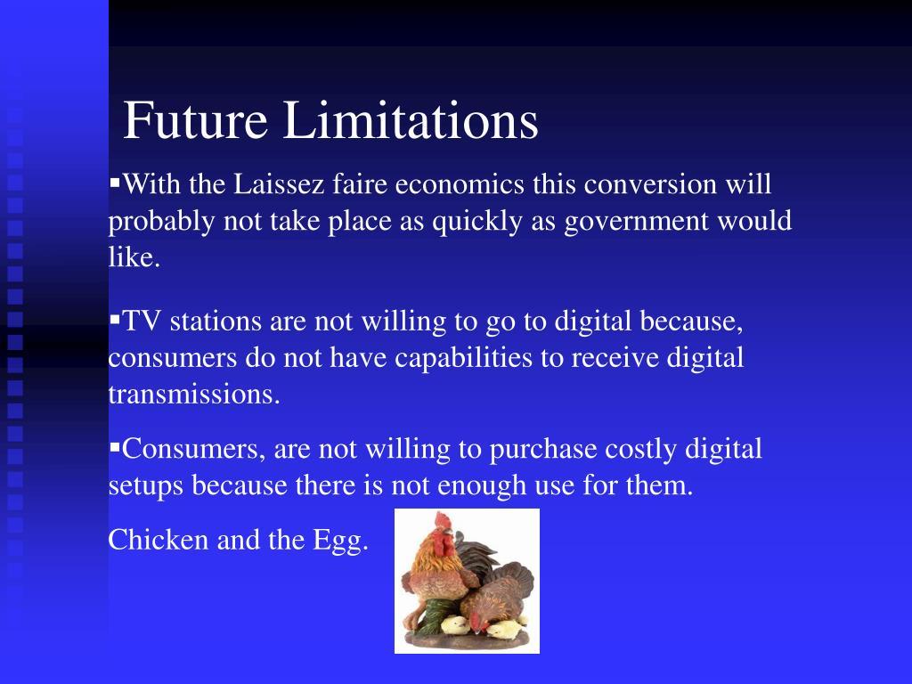 Future Limitations