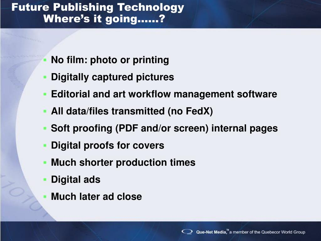 Future Publishing Technology