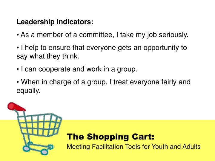Leadership Indicators: