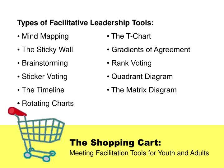 Types of Facilitative Leadership Tools: