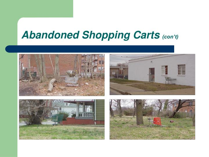 Abandoned shopping carts con t